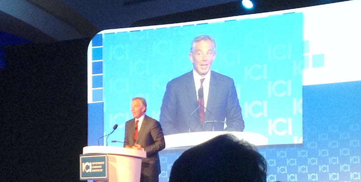 Tony Blair at the ICI GMM