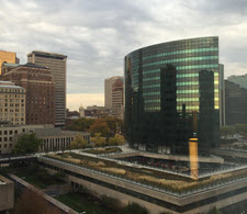 Roundtable Hartford skyline
